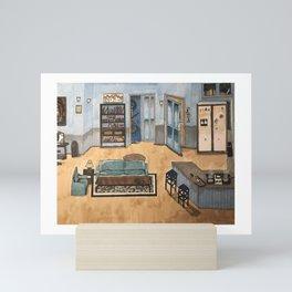 jerrys apartment Mini Art Print