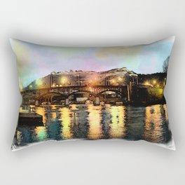 Fredriksten fortress in Halden, Norway Rectangular Pillow