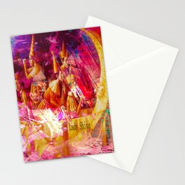 """"""" Of two things the moon the other one, it is the sun. """" Stationery Cards"""