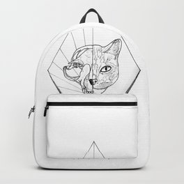 Dead or Live Cat Backpack
