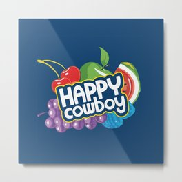 Jolly Ranchers Are Just Happy Cowboys Metal Print