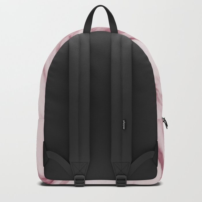 Pink Marble Pattern - Swirled Raspberry Pink Marble Backpack