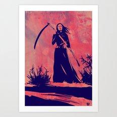 Lady D Art Print