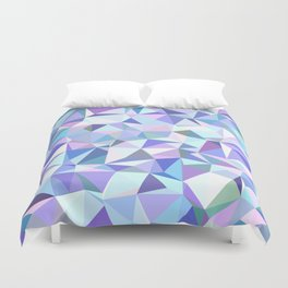 Light purple geometry Duvet Cover
