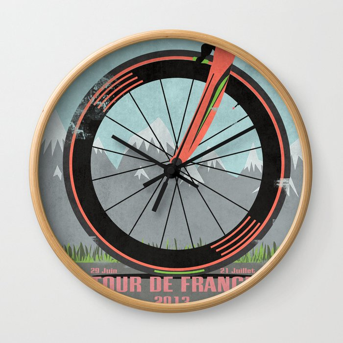 Tour De France Bike Wall Clock