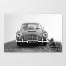 James Bond - Aston Martin Canvas Print