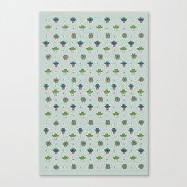 Cactus & suculents Canvas Print