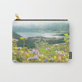 Sete Cidades crater lake Carry-All Pouch