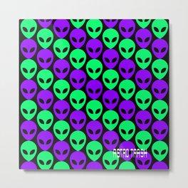 Alien Print Metal Print