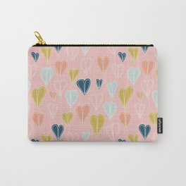 Heart Doodle Pattern 10 Carry-All Pouch