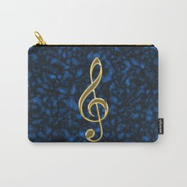 Golden treble clef Carry-All Pouch