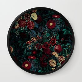 Night Garden XXXI Wall Clock
