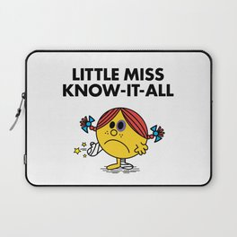 Know-It-All Laptop Sleeve