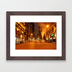 5th Ave 2:00AM Framed Art Print