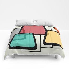 Mid-Century Modern Art Landscape 1.1 Comforters