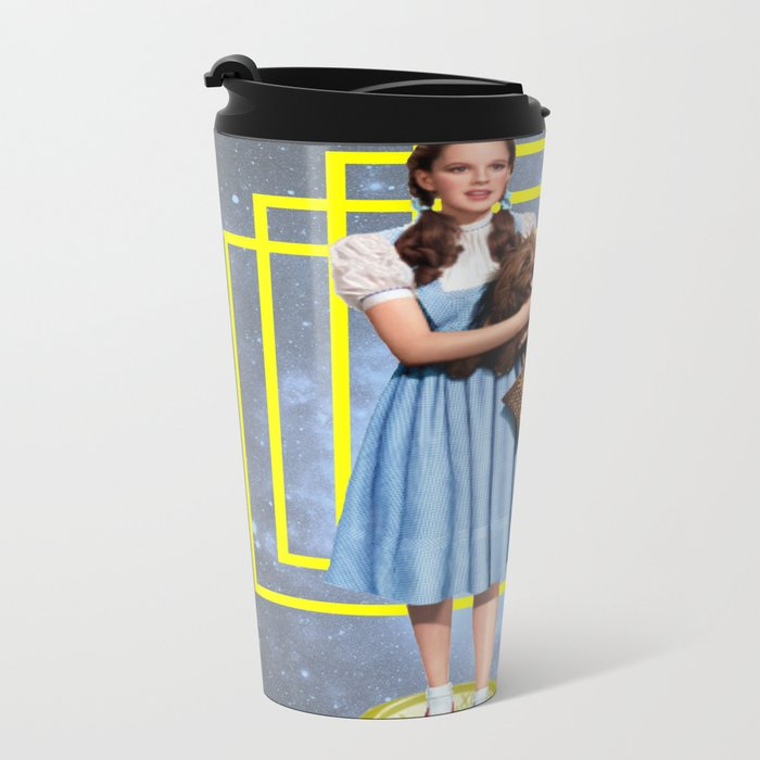 Yellow brick road Metal Travel Mug