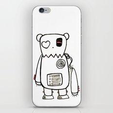 robo bear iPhone & iPod Skin