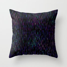 The Rain Is My Happiness Throw Pillow