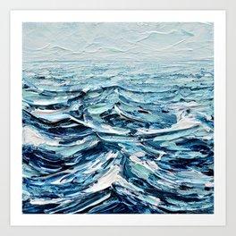 Tiny Seascape No. 2 Art Print