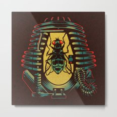 THE FLY: TELEPOD Metal Print