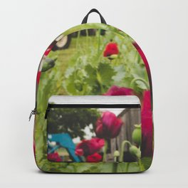 poppies on the farm II Backpack