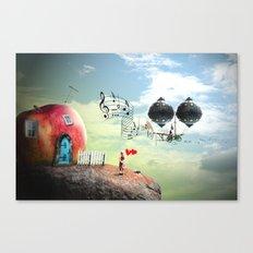 The Music Traveler Canvas Print
