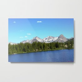 Molas Lake in the San Juan Mountains Metal Print