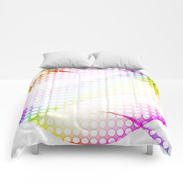 abstract colorful tamplate Comforters