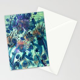 Sunflower and Thistle Stationery Cards