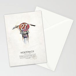 Norton CS1 1927 -Motorbike Stationery Cards