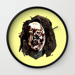 Bloody Annie Wilkes - Misery (Yellow) Wall Clock