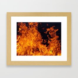 Fire 5.0 Framed Art Print