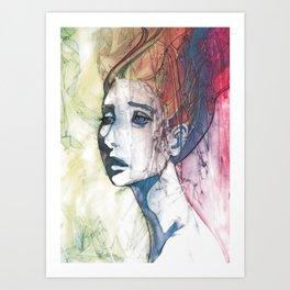 up do Art Print