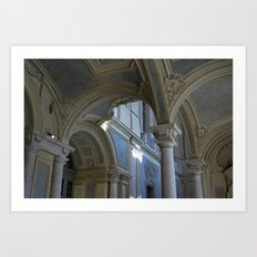 Palazzo Madama Art Print