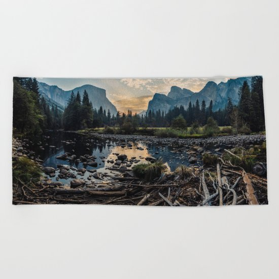May Your Adventures Be Wild Beach Towel