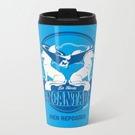 La Siesta Encantada, Bien Reposado • The Best Tequila TShirt! Metal Travel Mug