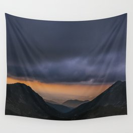 Sunset is my favorite color Wall Tapestry