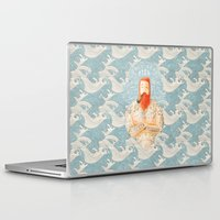 typography Laptop & iPad Skins featuring Sailor by Seaside Spirit