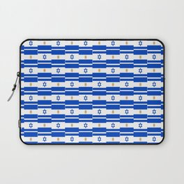 Mix of flag : Israel and Argentina Laptop Sleeve