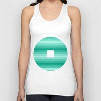 window Tank Tops featuring Window by Cs025