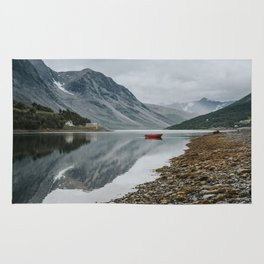 Norway I - Landscape and Nature Photography Rug