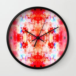 Whimsical Doily Wall Clock