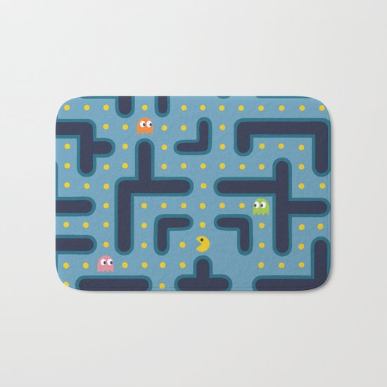 RETRO GAME Bath Mat