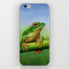 Moltrecht's Green Treefrog iPhone Skin