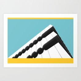 Escaleno Art Print