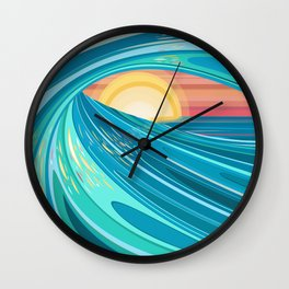 CHASING HELIOS Wall Clock