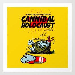 CANNIBAL HOLOCAUST BOULE ET BILL Art Print