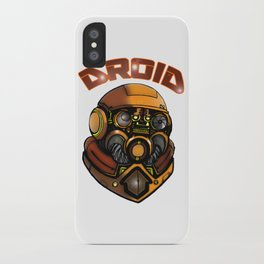 DROID77 iPhone Case