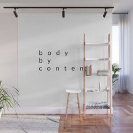 body by content Wall Mural