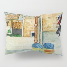 Roof Top Laundry Pillow Sham
